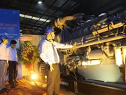 Exportation de générateurs électriques vers le Cambodge