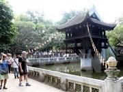 Croissance remarquable du nombre de touristes venant à Hanoi
