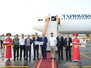 Inauguration d'une ligne aérienne Istanbul - Hanoi