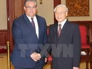 Le Parti communiste du Vietnam et le Parti communiste de Grèce resserrent leurs liens