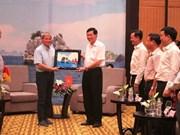 Le Premier ministre roumain en visite à Quang Ninh