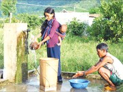 Lancement d'un projet d'eau potable dans sept provinces du Tay Nguyen et du Sud