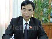 Agriculture: le nouveau ministre Nguyên Xuân Cuong sème pour demain