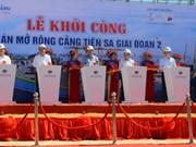 Deuxième phase du projet d'agrandissement du port maritime de Tien Sa