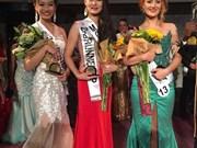 Une Vietnamienne élue 2e dauphine du concours Miss Deaf International 2016