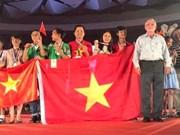 Le Vietnam primé à un concours international de science