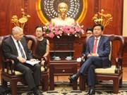 Plusieurs entreprises étrangères veulent investir à Ho Chi Minh-Ville