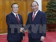 Le Premier ministre vietnamien reçoit le ministre laotien des Finances