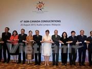 L'ASEAN et le Canada démarrent leurs négociations sur les politiques commerciales