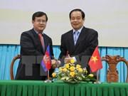 An Giang renforce ses liens avec des provinces cambodgiennes