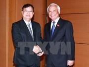 Vietnam-Laos : promotion des relations de coopération parlementaire