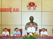 Le Premier ministre demande à Nghê An de mieux valoriser ses atouts
