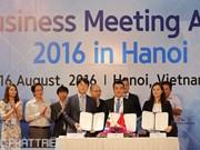 Conférence d'affaires de l'Asie 2016 à Hanoi