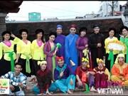 Les jeunes découvrent les patrimoines culturels immatériels du Vietnam