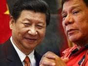 """Rodrigo Duterte : les négociations avec la Chine peuvent commencer """"dans l'année"""""""