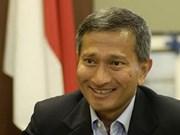 Le ministre singapourien des AE affirme les potentiels de coopération Vietnam-Singapour