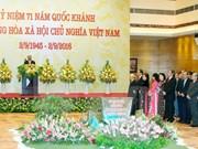 Le PM Nguyen Xuan Phuc donne un banquet  à l'occasion de la Fête nationale