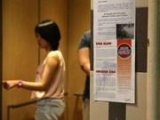 Zika : Singapour dénombre 27 nouveaux cas d'infection