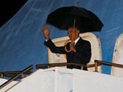 Le président américain arrive au Laos pour les Sommets de l'ASEAN
