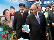 Le Premier ministre Nguyên Xuân Phuc à l'ouverture de la CAEXPO et du CABIS