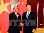 Nguyên Xuân Phuc reçoit le vice-Premier ministre chinois Zhang Gaoli