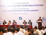 Le Vietnam paré pour la mise en œuvre des engagements de l'accord de la COP 21 à Paris