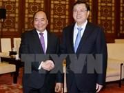 Activités du Premier ministre Nguyen Xuan Phuc à Pékin