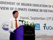 Changement climatique: aide néerlandaise pour la formation des ressources humaines