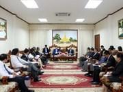Le vice-PM laotien Duangdy Somdy salue la coopération avec le Vietnam