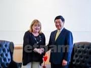 La valse des entretiens du vice-PM Pham Binh Minh à New York