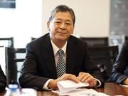 Distinction honorifique pour l'ambassadeur japonais