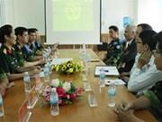 Le Vietnam et le Canada renforcent leur coopération dans la médecine militaire