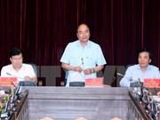 Le PM demande à Diên Biên des solutions de percée