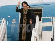 La présidente de de l'Assemblée nationale termine sa tournée au Laos, au Cambodge et au Myanmar