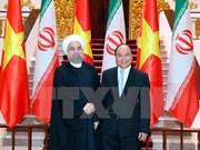Le Vietnam et l'Iran scellent une coopération dans divers domaines