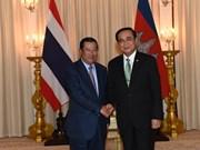 Cambodge et Thaïlande souhaitent promouvoir le commerce bilatéral