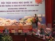 Conférence internationale sur la sécurité environnementale et maritime en Mer Orientale