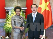 La secrétaire générale de la Francophonie en visite au Vietnam