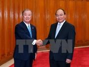 Le Premier ministre accueille des entrepreneurs japonais