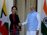 L'Inde et le Myanmar scellent une coopération bilatérale