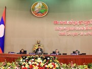 Ouverture de la 2e session de l'Assemblée nationale laotienne (8e législature)