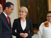 """Les relations entre l'Australie et l'Indonésie """"au beau fixe"""""""