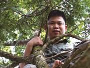 Un botaniste engagé pour protéger la forêt