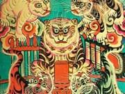 Le peintre Phan Ngoc Khue et son livre sur les estampes de Hang Trong