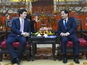 Hanoi et Prague promeuvent la coopération de développement