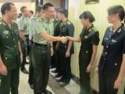 Vietnam-Chine : renforcement des échanges entre de jeunes officiers
