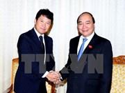 Le PM Nguyên Xuân Phuc salue l'essor des liens avec le Japon