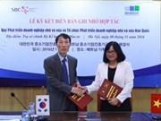Vietnam et R. de Corée se serrent la main pour le développement des PME