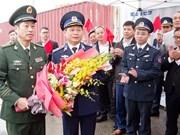 Le navire 46305 des Garde-côtes chinoises à Hai Phong