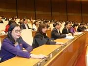 Des projets de lois et de résolutions discutés à la 2e session de l'AN